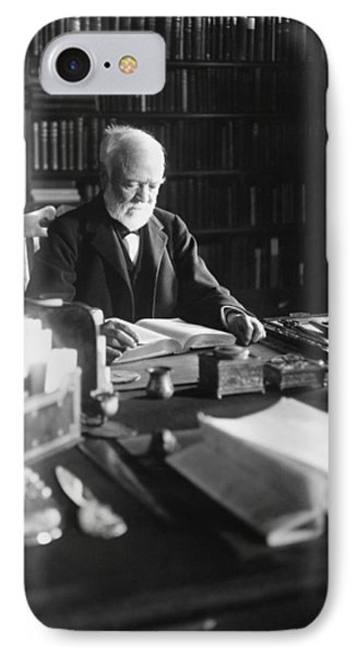 Andrew Carnegie Reading IPhone Case