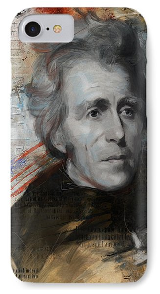 Andrew Jackson Phone Case by Corporate Art Task Force