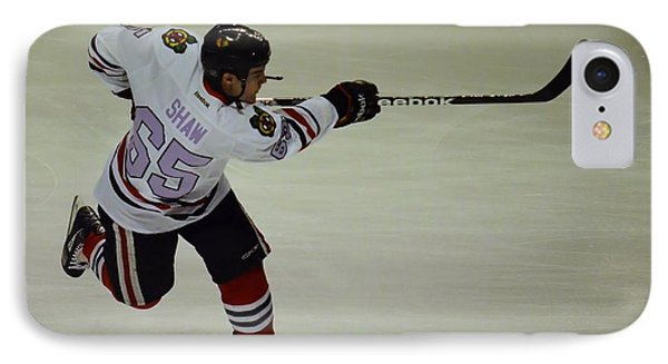Andrew Shaw Fights Cancer IPhone Case by Melissa Goodrich