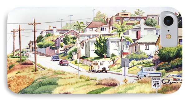 Andrews Street Mission Hills Phone Case by Mary Helmreich