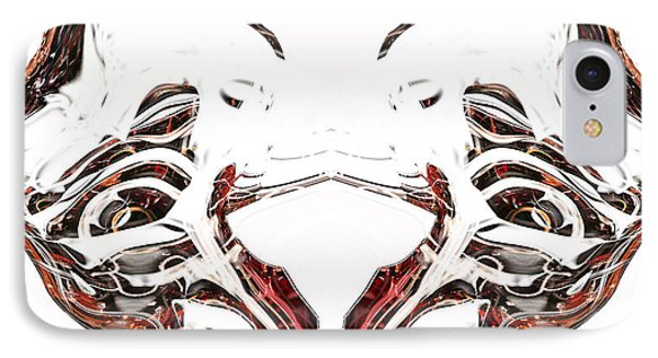 IPhone Case featuring the digital art Androidinous by Richard Thomas
