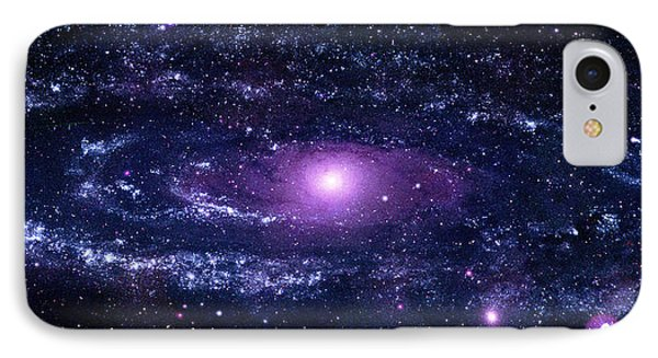 Andromeda Galaxy (m31) IPhone Case by Nasa/swift/stefan Immler (gsfc) And Erin Grand (umcp)
