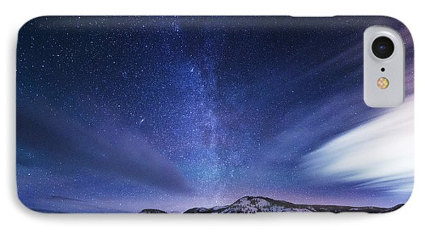 Andromeda Rising IPhone Case by Darren  White