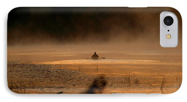 Androscoggin Paddle IPhone Case by Butch Lombardi