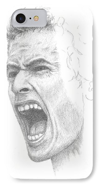 Andy Murray Sketch IPhone Case