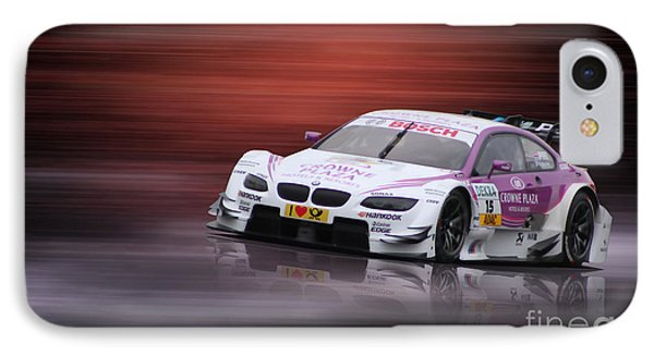 Andy Priaulx M3 Dtm 2012 IPhone Case by Roger Lighterness