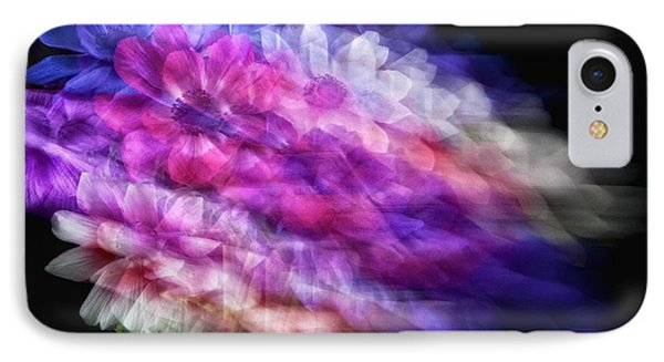 Anemone Abstract Phone Case by Claudia Kuhn