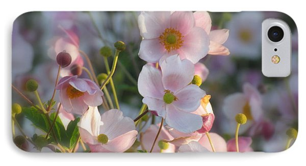 Anemones Soft Beauty IPhone Case by France Laliberte