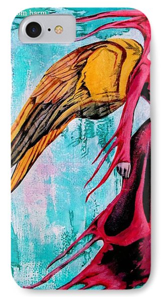 Angel 1 Navigating Ether IPhone Case by Maria Huntley