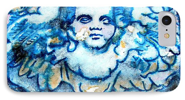 Angel 6 IPhone Case by Maria Huntley