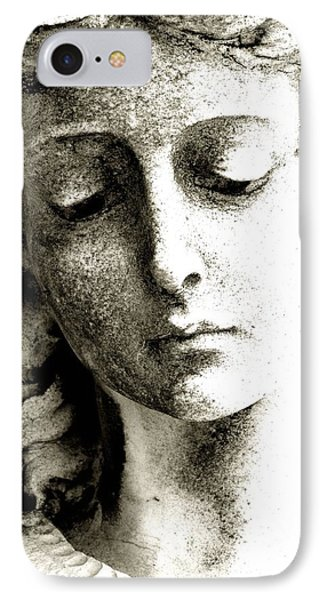 Angel 8 Face Of An Angel IPhone Case by Maria Huntley