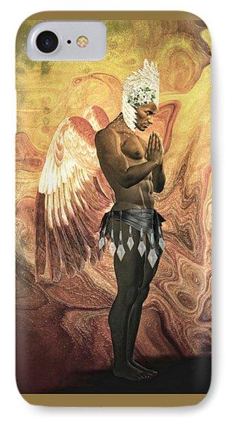 Angel Cabaret IPhone Case by Quim Abella