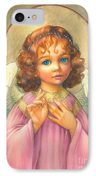 Angel Child Phone Case by Zorina Baldescu