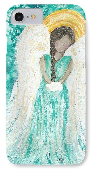 Angel Dreams IPhone Case by Kirsten Reed