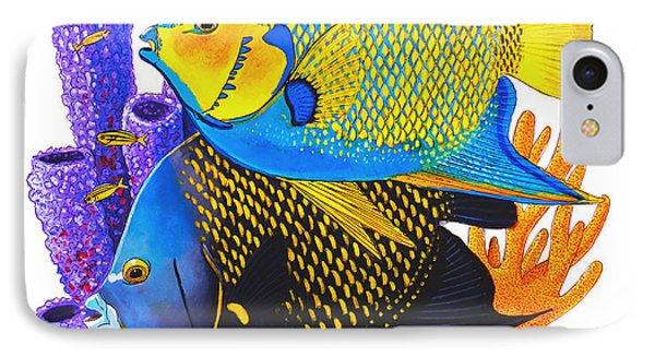 Angel Fish IPhone Case