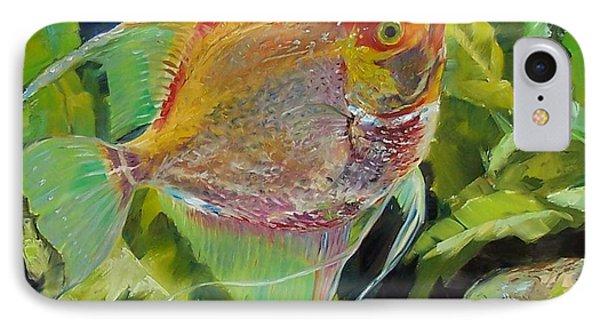 Angel Fish Phone Case by Donna Munsch