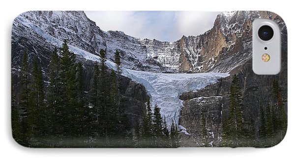 IPhone Case featuring the photograph Angel Glacier by Rhonda McDougall