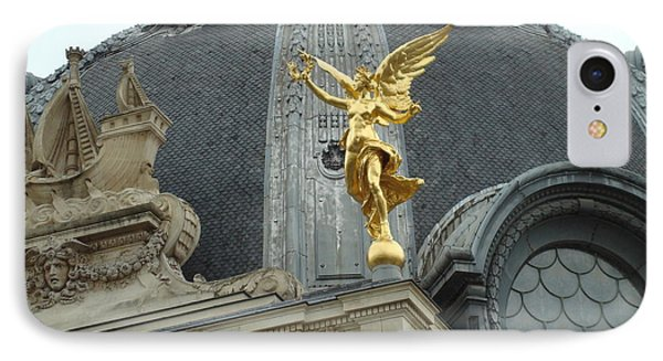 IPhone Case featuring the photograph Angel In Paris by Kay Gilley