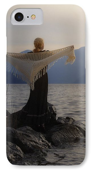 Angel In Sunset Phone Case by Joana Kruse