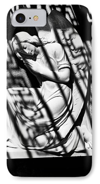 Angel In The Shadows 1 IPhone Case by Swank Photography