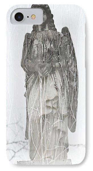 Angel In The Vines IPhone Case
