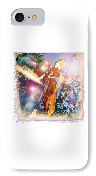IPhone Case featuring the photograph Angel Light by Marie Hicks