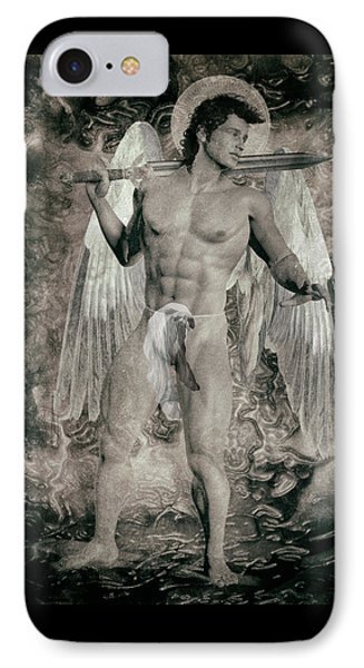 Angel Mercenary  IPhone Case by Quim Abella