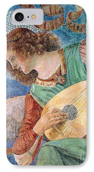 Angel Musician IPhone Case by Melozzo da Forli