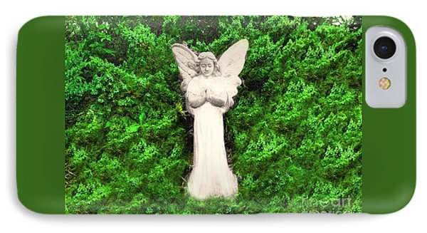 IPhone Case featuring the photograph Angel My Gaurdian by Becky Lupe