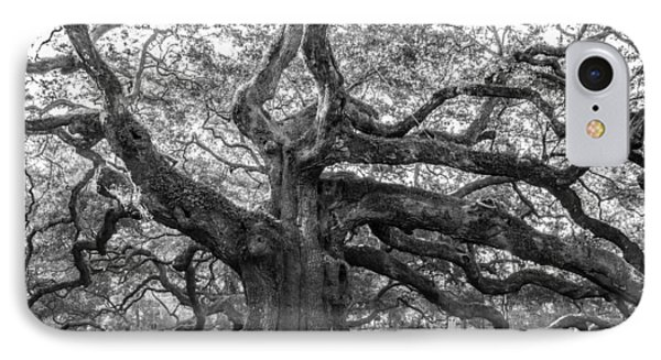 IPhone Case featuring the photograph Angel Oak Tree by Patricia Schaefer