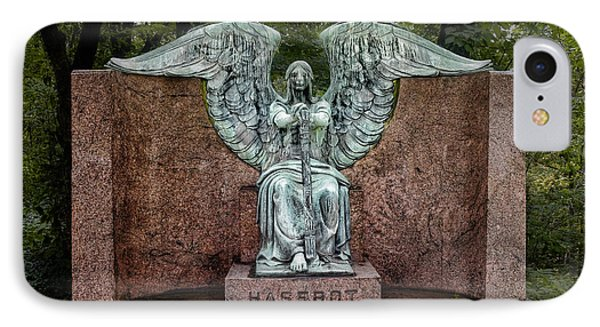 Angel Of Death Lake View Cemetery IPhone Case