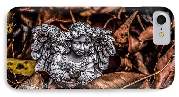 Angel Of Fall IPhone Case by Ray Congrove