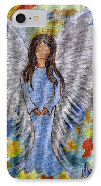 Angel Of Devotion IPhone Case by Ella Kaye Dickey