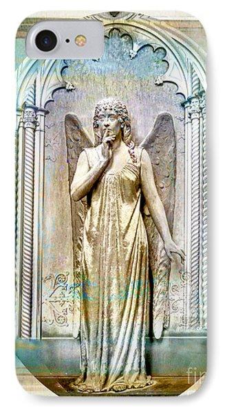 Angel Of Silence.genoa IPhone Case