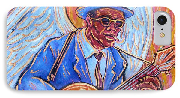 Angel Of The Blues Phone Case by Robert Ponzio