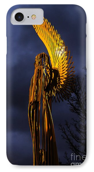 Angel Of The Morning IPhone Case by Steve Purnell