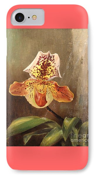 Angel Orchid IPhone Case