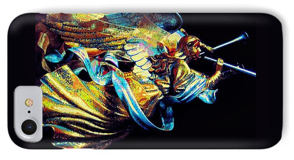 Angel Herald IPhone Case by ARTography by Pamela Smale Williams