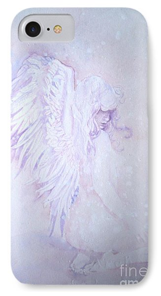 IPhone Case featuring the painting Angel by Sandra Phryce-Jones