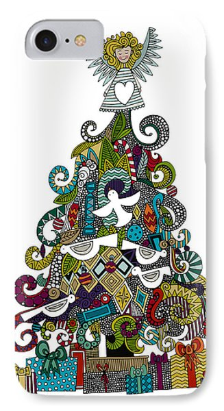 Angel Tree IPhone Case by Sharon Turner