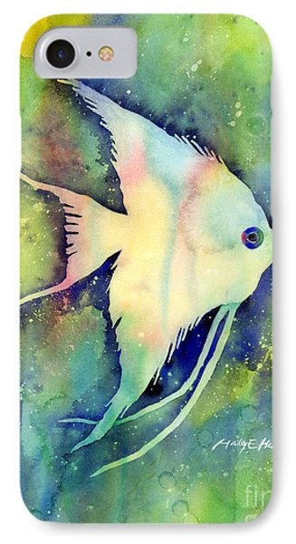 Angelfish I IPhone Case by Hailey E Herrera