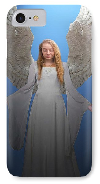 IPhone Case featuring the photograph Angelic Angel by Eric Kempson