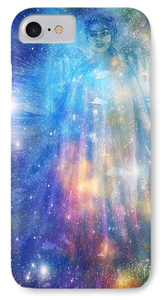 Angelic Being IPhone Case by Leanne Seymour