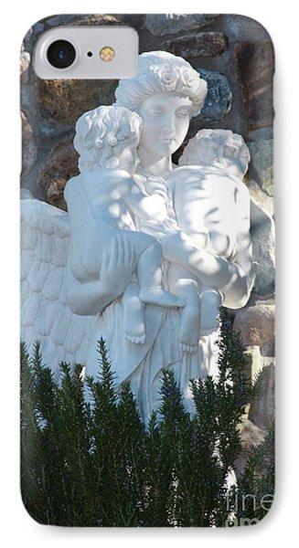 Angelic Motherhood IPhone Case