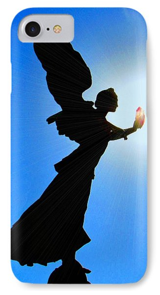 IPhone Case featuring the photograph Angelic by Patrick Witz