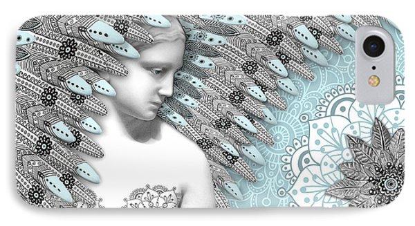 Angelica Hiberna - Angel Of Winter IPhone Case