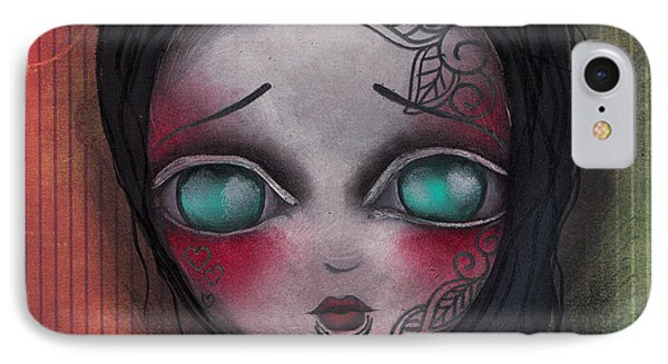 Angelina IPhone Case by  Abril Andrade Griffith