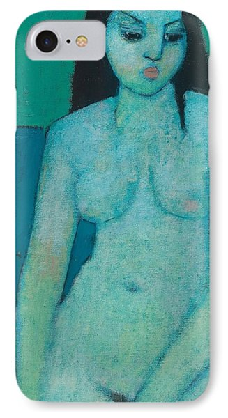 Angelina Nude IPhone Case by Endre Roder