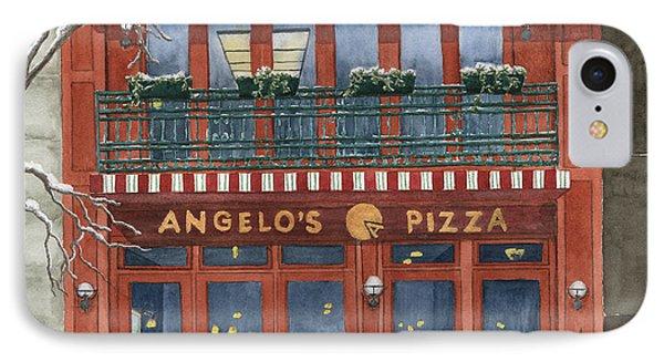 Angelo's On 57th Street Phone Case by Rhonda Leonard