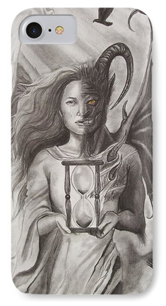 Angels And Demons Phone Case by Amber Stanford